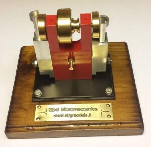 Motore Bicilindrico a Cilindri Oscillanti