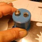bulino ottico rotante