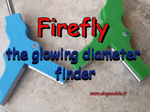 Firefly - the glowing diameter finder